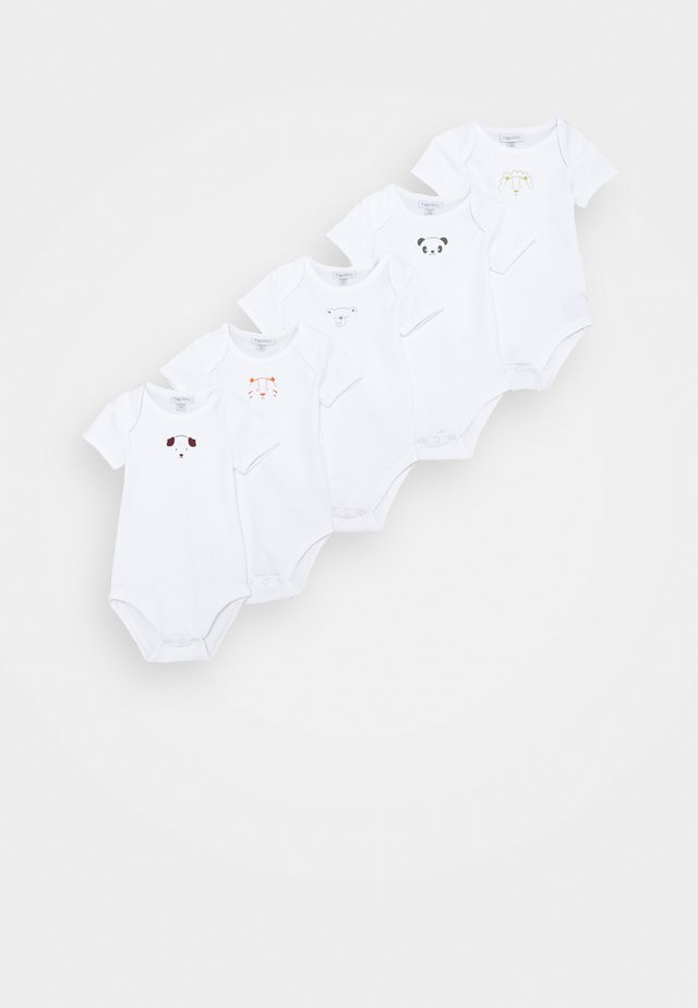 UNISEX 5 PACK - Body / Bodystockings - brilliant white