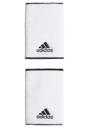 TENNIS WRISTBAND LARGE - Muñequera - white