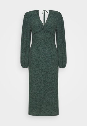 PRINTED DRESS - Day dress - green