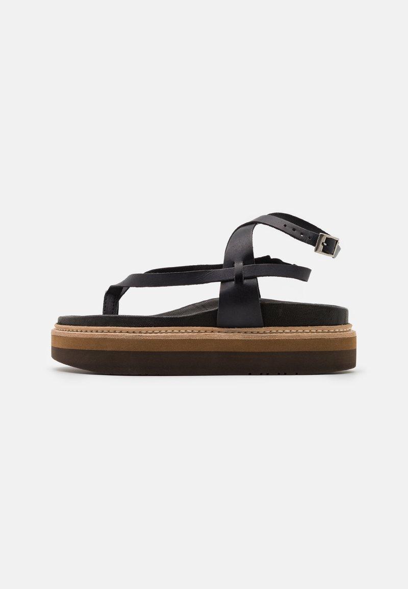 Jeffrey Campbell - ESTRELLA - T-bar sandals - black