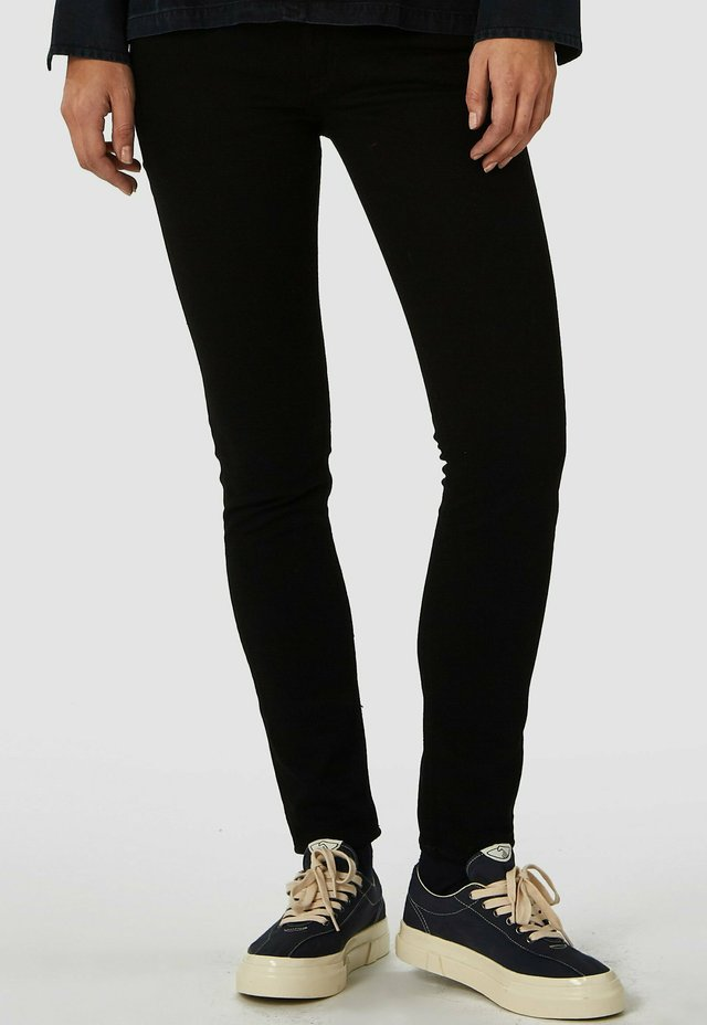 JUNO - Slim fit jeans - stay black rinse