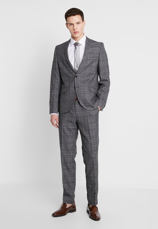 YARDLEY SUIT - Suit - charcoal blue