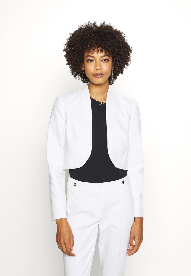 comma - BOLERO - Blazer - white