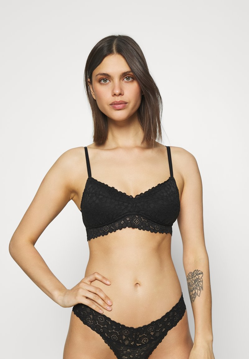aerie - REAL GOOD BRALETTE - Push-up bra - true black
