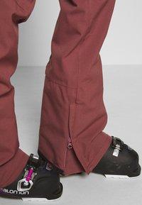 Burton - VIDA ROSE BROWN - Snow pants - rose brown - 4