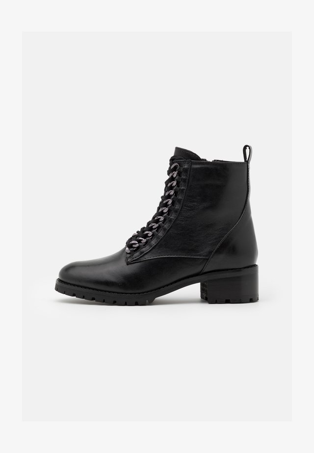 SARYA - Lace-up ankle boots - noir