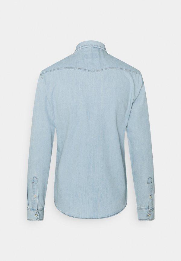 Blend Koszula - denim light blue/niebieski denim Odzież Męska CZCT