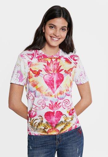 TATTOO - Print T-shirt - white