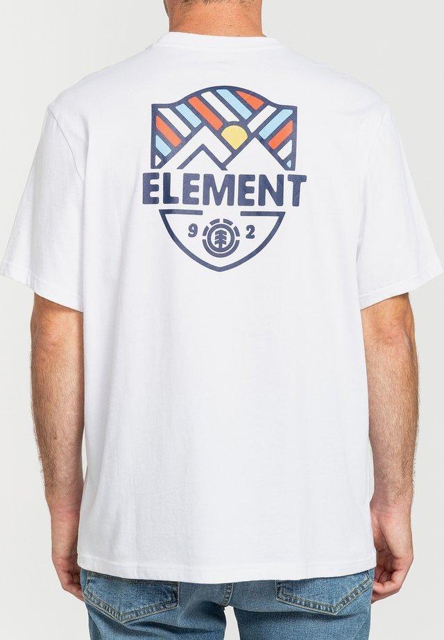 T-shirts print - optic white