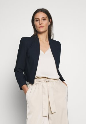 CROP BOLERO - Blazer - navy blue