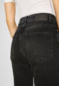 Pieces - PCNIMA - Jeans straight leg - black denim - 3