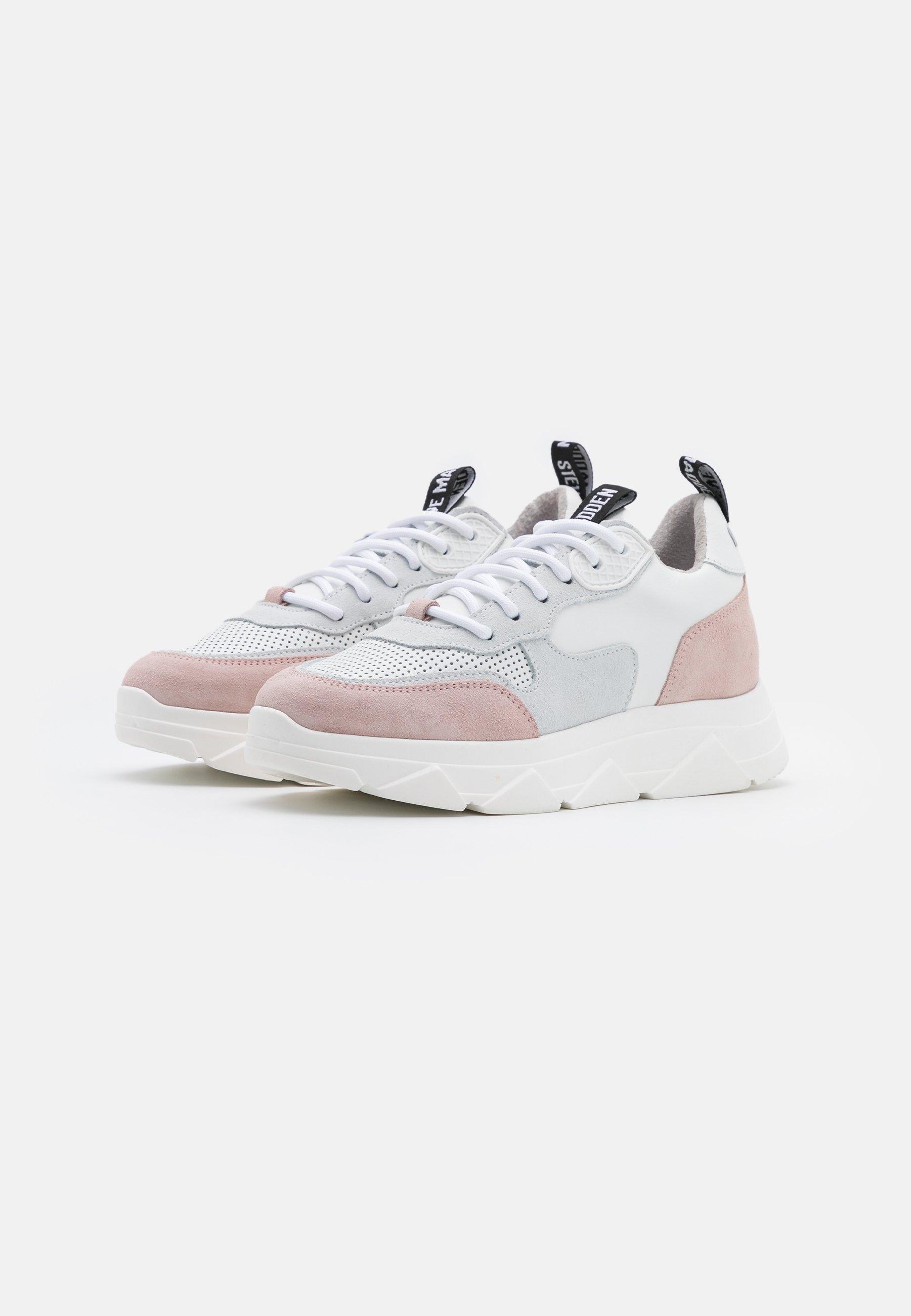 Steve Madden PITTY Sneaker low white/pink/weiß