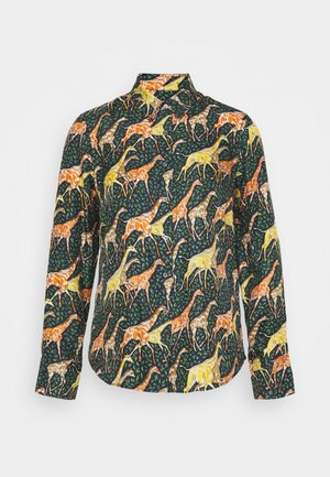 MAD GIRAFFES - Button-down blouse - spiced saffron/multi