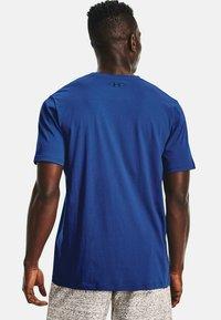Under Armour - SPORTSTYLE  - Print T-shirt - dark blue - 2