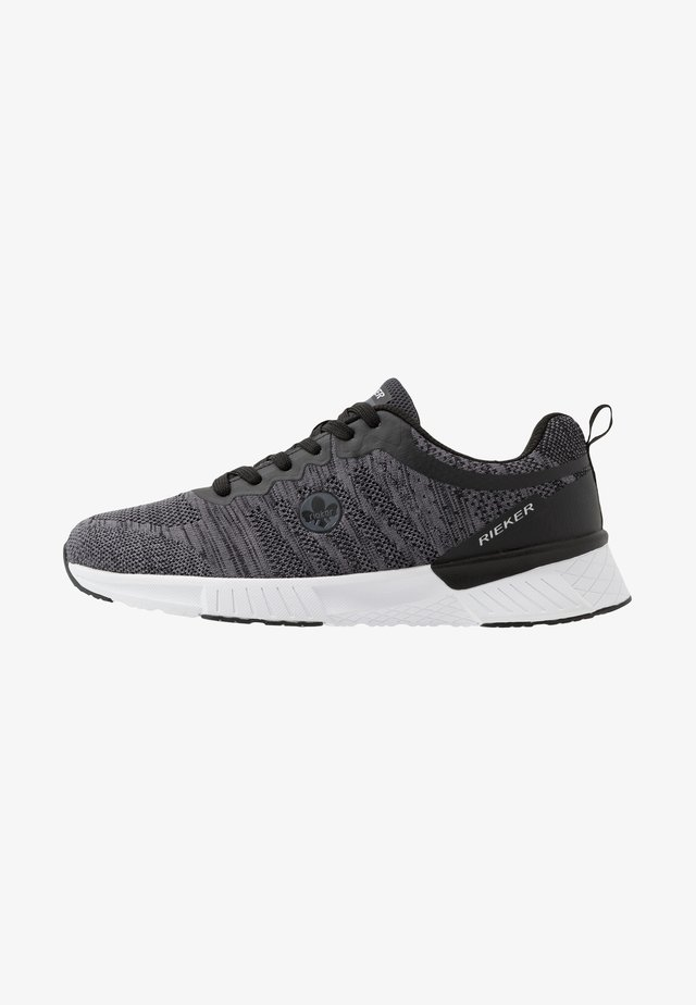 Sneakers - grau/schwarz
