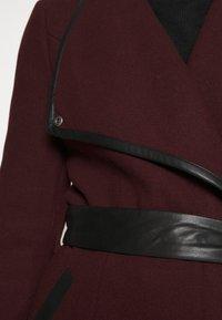 Vero Moda - VMWATERFALL CLASS - Classic coat - port royale/black - 5