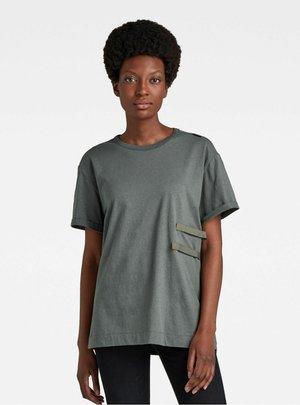 TAPE TEE - T-shirt basique - graphite