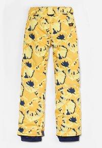 O'Neill - Snow pants - yellow aop w/ brown - 2