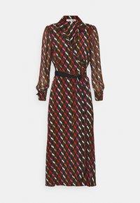 Diane von Furstenberg - BROOKE DRESS - Cocktail dress / Party dress - wood brown - 3