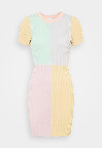 SWITCH DRESS - Etuikjole - multi stripe