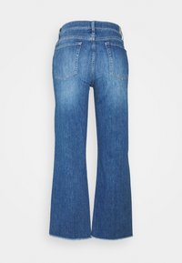 7 for all mankind - CROPPED ALEXA - Džíny Straight Fit - mid blue - 1
