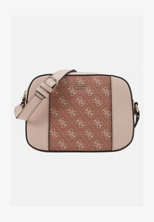 KAMRYN CROSSBODY TOP ZIP - Skuldertasker - cinnamon multi