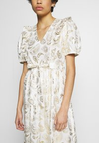Résumé - TENDORA DRESS - Maxi dress - white - 5