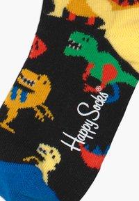Happy Socks - KIDS DINOSAUR 3 PACK UNISEX - Socks - multi-coloured - 3