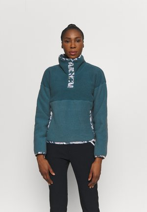 LIBERTY SIERRA SHERPA - Fleece jumper - mallard blue