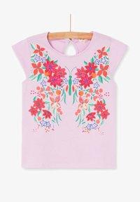 Du Pareil au Même - Print T-shirt - parma violet - 3