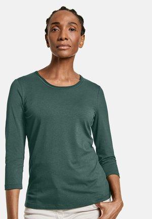 Longsleeve - smaragd grün