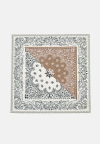Mennace - ROSEBOWL SPLIT BANDANA - Chusta - beige - 2