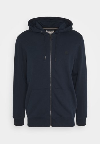 Zip-up hoodie - dark blue