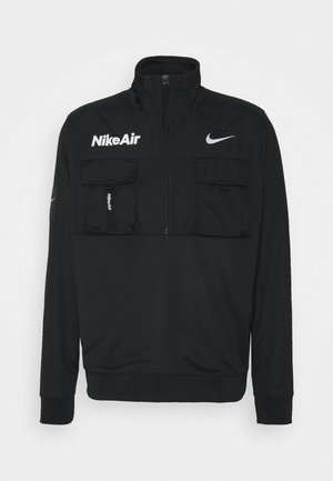 Windbreaker - black/white