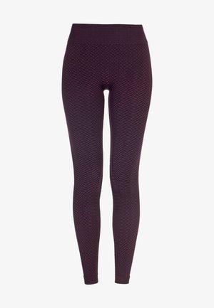 Legging - black/plum