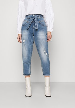 KABIRA STRETCH - Jeans Relaxed Fit - blend destroy