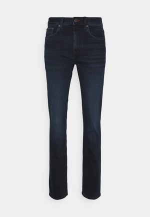 CORE BLEECKER SLIM - Jeansy Slim Fit - iowa blueblack
