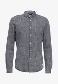 TOM TAILOR DENIM - STRUCTURE - Camisa - black iris blue - 4