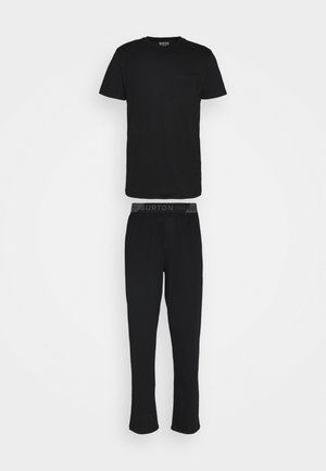 POCKET TEE JOGGER SET - Pyjama set - black