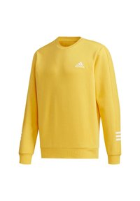 adidas Performance - ESSENTIALS TRAINING SPORTS PULLOVER - Mikina - active gold/white - 9