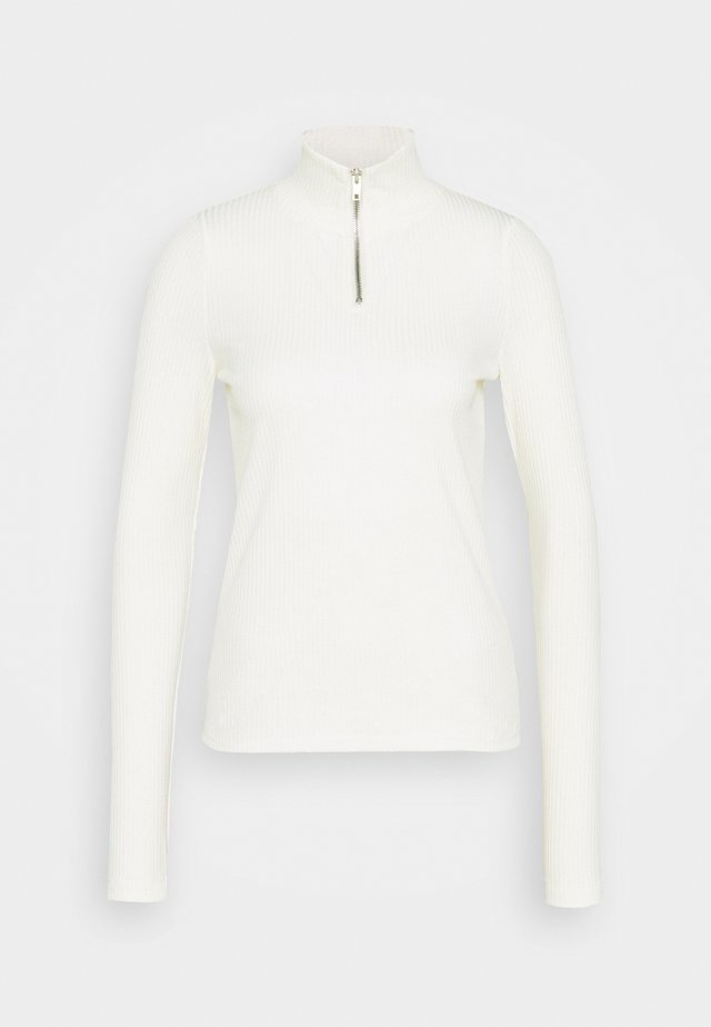 VMRACHEL HIGHNECK  - Long sleeved top - snow white