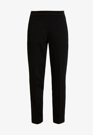MIA SLIM - Trousers - deep black