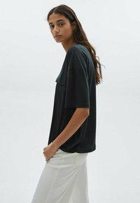 Massimo Dutti - T-shirt basique - dark blue - 1