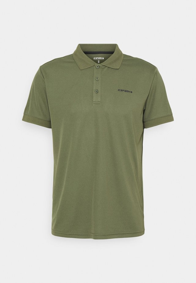 BELLMONT - Poloshirts - dark olive