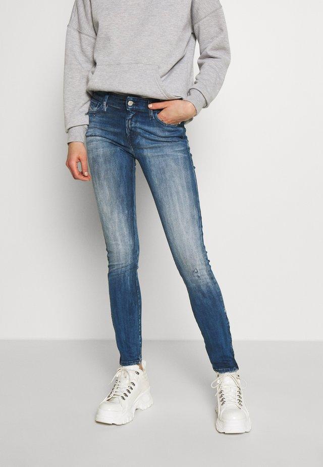 SLANDY-ZIP - Jeans Skinny Fit - blue denim
