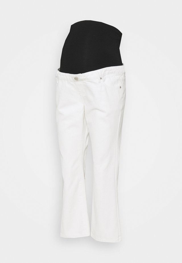 CROPPED - Džíny Relaxed Fit - white