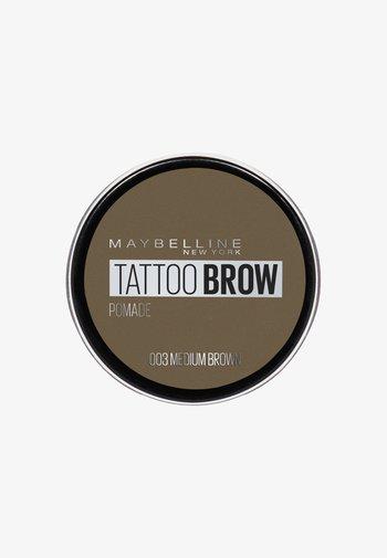 TATTOO BROW POMADE - Eyebrow powder - 003 medium brown