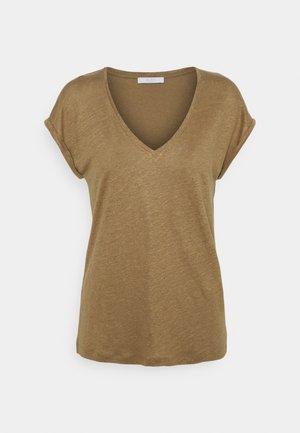 MILA - Basic T-shirt - sepia
