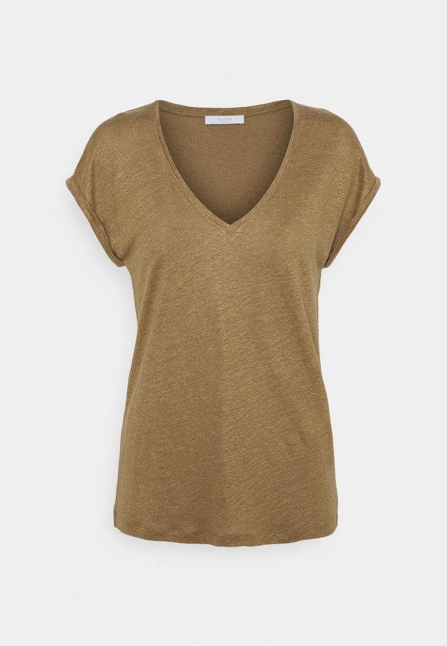 MILA - T-shirt basic - sepia