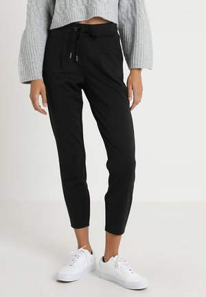 RIZETTA CROP PANTS - Tracksuit bottoms - black